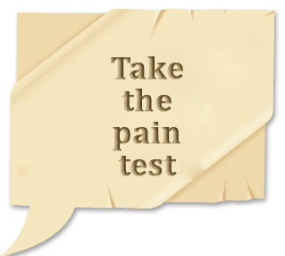 take the pain test